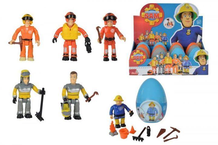 Malých šibačov určite poteší postavička požiarnika Sama…