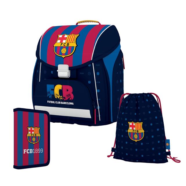 FC Barcelona!!! 3 dielny set: taška, peračník a vrecko …